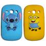 Capinha Samsung Galaxy S6810 S6812 Fame Minions Minnie