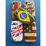 Capa Bandeiras Galaxy Pocket Neo S5310 S5312 + Película