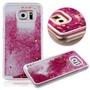 Case Capa Capinha Samsung Galaxy S6 Glitter Pink Barato