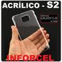 Capa Samsung Galaxy S2 I9100 Transparente Acrílico Frt 7,00