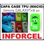 Capa Case M & M Galaxy S3 Mini I8190 Gel Tpu (macio) Frt 7,0