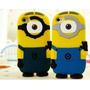 Case Capinha 3d Silicone Iphone 5 5s Minion Malvado Favorito