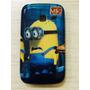 Capa Case Galaxy Y Duos S6102 Minions +flexível