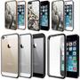 Capa Bumper Case Acrílica/ Emborrachada Iphone 4/4s