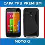 Capa Tpu Premium Motorola Motog Xt1032 Xt1033 - Frete Grátis