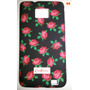 Capa Capinha Case Floral Flores Samsung Galaxy S2 Sii I9200