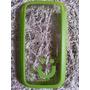 Capa Case Celular S3 Transparente Verde Mob