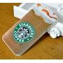 Lote 2un Case Capinha Iphone 4/4s Starbucks Coffee Capa
