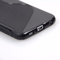 Capa Preta Celular Galaxy S6 G920 + Película De Vidro