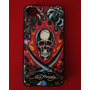 Capa Case Ed Hardy Original E Raro! - Para Iphone 4s