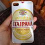 Case Capinha Iphone 4/4s Latinha De Cerveja Itaipava Branco