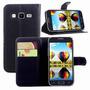 Capa Case Carteira Couro Samsung Galaxy Win 2 Duos G360