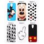 Capinha Capa Celular Mickey Minnie Samsung S3 S4 S5 S6 Mini