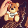 Case Capinha Moschino Iphone 5/5s/5c/6 Urso Ted + Pelicula
