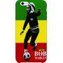 Capa Case Iphone 4 4s - Bob Marley - Filmes Música Séries