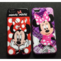 Capa Case Iphone 5c Minnie Mickey Disney + Película Vidro