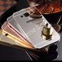 Capinha Capa Case Galaxy J5 Prata Espelhada Linda Luxuosa