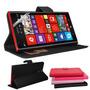 Case Carteira Capa Couro Nokia Lumia 1520 + Pelicula Premium