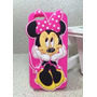 Capinha Capa Case Silicone 3d Minnie Moda Iphone 5 5s 5c