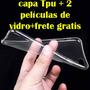 Capa Case Capinha Ultra Slim Transparente Iphone 6s Envio Já