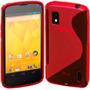 Capa Silicone Tpu Celular Lg Nexus 4 E960 Pelicula F Gratis