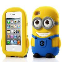 Capa Capinha Iphone 5 5s Minions Meu Malvado Favorito 3d