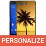 Capa Personalizada Tpu Com A Sua Foto Para Sony Z3 Compact