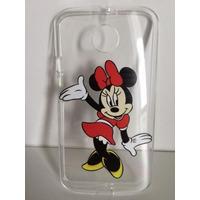 Capinha Capa Case Silicone Minnie Mickey Motorola Moto X 2