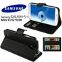 Capa Carteira Case Luxo Flip Galaxy S4 Mini 9192