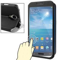 Capa Flip Samsung Galaxy S4 I9500 Frente Transparente Touch