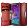 Capa Carteira Em Couro Legítimo Kalaideng P/ Galaxy Note 4