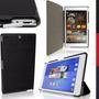 Capa Carteira Flip Premium Couro P/ Sony Z3 Compact Tablet