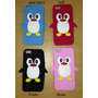 Capa Case Pinguim Iphone 5 5c E 5s