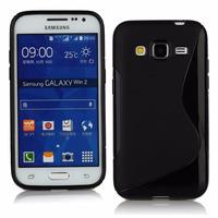 Capa Para Celular Galaxy Win 2 G360 Com Película De Vidro