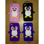 Capa Case Pinguim Iphone 4 E 4s Pronta Entrega