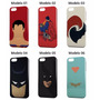 Capinha Capa 3d Batman Heroi Phone 4/4s/5/5s/5c/6/6 Plus