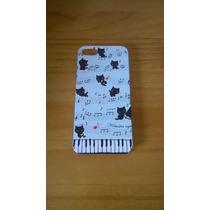 Capinha Iphone 5 / 5s Gato Gatinho Piano