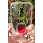 Capa Case Luxo Taça De Vinho Copo Moto G3 + Película Vidro