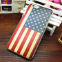 Capa Case Iphone 6g Tpu Bandeira Eua Estados Unidos 4.7