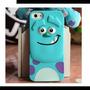Capa Case Monstros Sa Sulley Iphone 5 5s + Película De Vidro