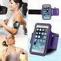Arm Band Bracadeira Porta Celular Braço Samsung S3 S4 Lilas