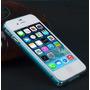 Case Capa Bumper Alumínio Iphone 4s + P / Vidro Frente/verso