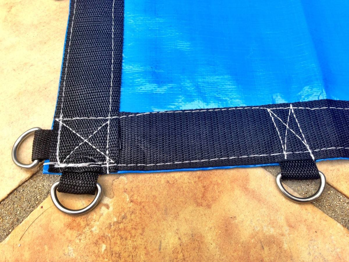 Capas de piscinas 5 x 3 5m lona prote o cobertura tela for Tela impermeable para piscinas