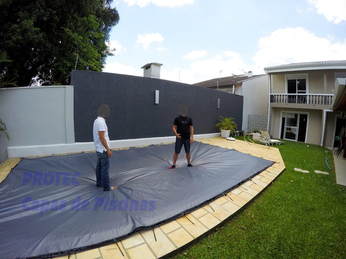 Capas de piscinas 8 x 4 lona cobertura tela prote o r for Piscina 4 x 2