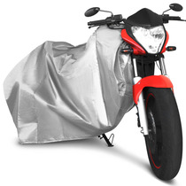 Capa P/ Cobrir Moto 100% Impermeável Protetora Forrada G