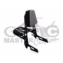 Sissybar Destacável Sportster 883, Iron, Xl1200 Custom Preto