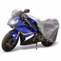Capa Cobrir Motos P M G 100% Forro Cadeado + Brinde Bomba Ar