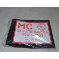 Capa Banco Para Cbx250 Twister Ate 08 Cor Preta.