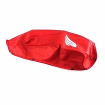 Capa Do Tanque Vermelha Titan150 2009/2013 - Frete Gratis