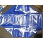 Capa De Banco Mobilete Caloi ( Cx ) Cor: Azul